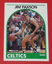 # 18 JIM PAXSON BOSTON CELTICS 1989 NBA HOOPS BASKETBALL CARD