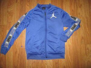 Boys NIKE AIR JORDAN athletic full zip jacket sweatshirt  M Md Med