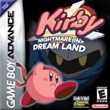 Kirby Nightmare In Dream Land - Game Boy Advance GBA SP