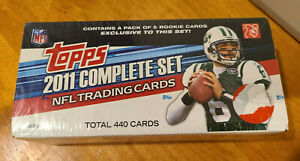 2011 TOPPS NFL COMPLETE FACTORY SET! NEW & SEALED! 445 Cards WITH SPECIAL PACK**