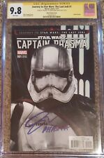 "Captain Phasma #1 photo cvr_CGC 9.8 SS_Signed by Gwendoline Christie w/ ""Phasma"""