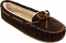 Moccasins Suede Solid Slippers for Women US Size 10