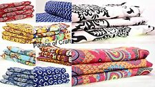 Indian 100% Cotton Quilting Fabric Dressmaking Sewing Craft Item Supply By Metre