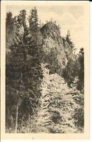 Ansichtskarte Aschenbergstein im Lauchagrund im Thüringer Wald - schwarz/weiß