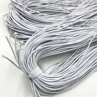 20 Yards Top Quality Round 3mm Elastic Band Stretch Rope Cord DIY Crafts Sewing