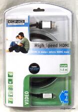 Câble HDMI vers micro HDMI 1m50