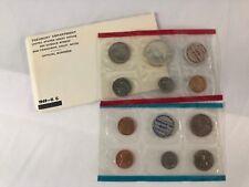 1969 MINT SET 10 COIN SET 40% SILVER HALF DOLLAR - ALL ORIGINAL PACKAGING