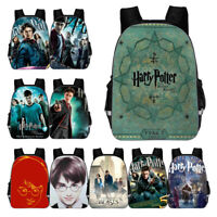 3D Harry Potter Children Backpack Student Bag School Bag Shoulder Bag Daypack