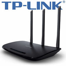 TP-LINK TL-WR940N WIRELESS ROUTER 450Mbit 4 PORT Switch WLAN WPS TASTE - BLACK