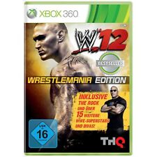 WWE 12 - WRESTLEMANIA EDITION XBOX 360 NUOVO + conf. orig.