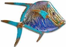 Dory Fish metal & glass wall art sea life decor