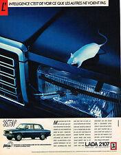 PUBLICITE ADVERTISING 035  1986   LADA 2107