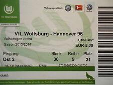 TICKET 13/14 VfL Wolfsburg - Hannover 96