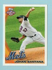 JOHAN SANTANA   2010 Topps Opening Day #159   Pitcher  New York Mets    Baseball