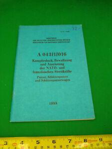 EAST GERMAN/DDR/NVA Training manual A 043/1/016 (Original)