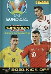 Panini Adrenalyn XL UEFA Euro 2020 - 2021 Kick Off Fans Power Up Trio Jewel