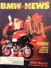 BMW ON Magazine R1100GS Santa's California Custom December 1994 011918nonrh