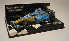 RENAULT F1 TEAM R26 2006 G. FISICHELLA  F1 1:43 MINICHAMPS