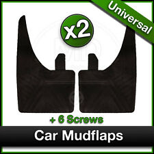 HYUNDAI Car Universal Rubber MUDFLAPS Mud Flaps for Front OR Rear Fitment PAIR