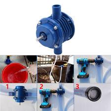 Bohrmaschinenpumpe Centrifugal Pumpe Gartenbewässerung für Akkuschrauber Pumpe