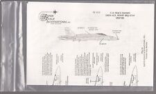 [57070] Superscale International Decal Sheets F/A-18 A/C Hornets 72-632 Scale