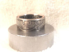 1982 Kennedy Half Dollars  size 9  coin ring  handmade mixed metals