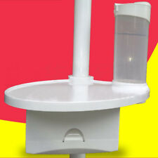 Dental Chair Accessories 1 Post Mounted Tray 1 Disposable Cup Storage Holder BSP
