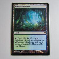 Misty Rainforest Zendikar x1x Single MTG Magic Gathering Card LP Lightly Played