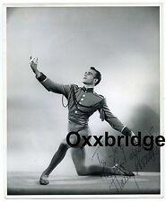 HARRY ASMUS SIGNED PHOTO Dancer Ballet Theater Vaudeville Broadway WALTER OWEN