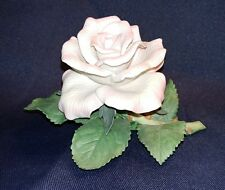 The Lenox Garden Tea Rose fine porcelain collectible figurine in original box