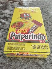 Pulparindo Mini 24pc Box Hot and Salted Tamarind Pulp Candy Mexican Candy