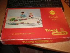 Vintage Tri-ang Railways Trainset Princess Elizabeth + 2 coaches. Original Box
