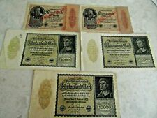 German MILLION MARKS + banknotes rare COLLECTION LOT 4