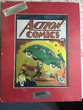 ACTION COMICS #1 NM- CHROMART LIMITED ED CHROMIUM PRINT SEALED COA 1938-1994