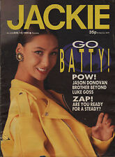 Jackie Magazine 12 August 1989 No. 1336  Brother Beyond Bobby Brown Jenny Powell