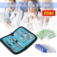 23x Chirurgische Nahtkissen Naht Kit Instrumente Medizin Studenten