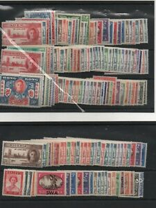 1946 Victory Omnibus complete commonwealth set 164 MNH unmounted mint stamps