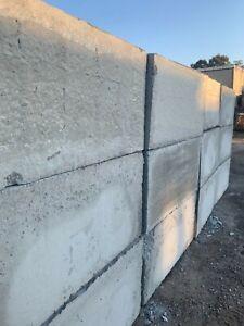 Precast Interlocking concrete blocks