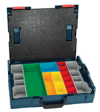 Bosch CASE SYSTEM L-BOXX 442x357x117mm Organiser With Coloured Inserts, Lockable