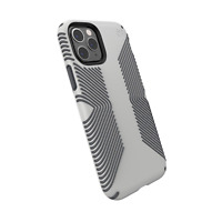 Speck 129892-8396 Presidio Grip iPhone 11 Pro Case, Marble Grey/Anthracite Grey