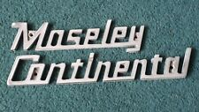 MOSELEY CONTINENTAL Coach Badge - Caetano - Bus Badge. Coach / Bus Sign