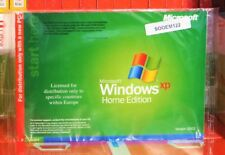 MICROSOFT Windows XP Home Edition usato X10-60274 100% Autentico UK vendita al dettaglio