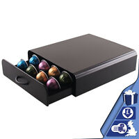 Coffee Pod Capsule Drawer Nespresso 20 Coffee Holder Capsules Organiser Storage