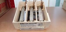 GEC 125A - 200A CM-MT, 3 PHASE MINIFORM FUSE CARTRIDGE, GEC ENGLISH ELECTRIC, GE