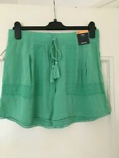 M&S - Green mix shorts - size 10 New with tags