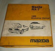 rx7 service ebay1988 mazda rx 7 service shop manual with wiring diagrams