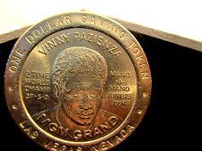 DOLLAR 1$ SLOT TOKEN COIN MGM GRAND 1994 VINNY PAZIENZA LAS VEGAS NV