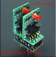 LME49720 Full Discrete Dual OP AMP Opamp Module Board For HDAM Replace OPA2604