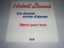 """Herbert Léonard Maxi vinyl 12"""" France Ca donne envie d'"""