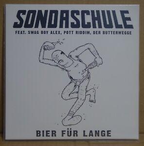 """SONDASCHULE – BIER FÜR LANGE 7"""" VINYL LP CORONA EP Sitzen und Saufen *RARITÄT*"""